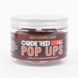 Плуващи топчета Sonubaits Code Red Pop Ups - 18мм