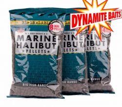 Пелети Dynamite Baits Marine Halibut Pellets 8мм