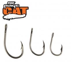 Куки за сом FOX CAT Powerpoint Short Shank Hooks