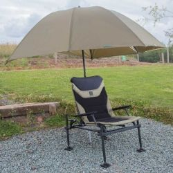 Чадър Korum Graphite Brolly - 2.5м