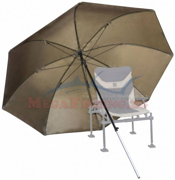 Чадър Korum Super Steel Brolly - 2.5м