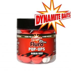 Топчета Dynamite Fluro Pop Ups Robin Red 15мм