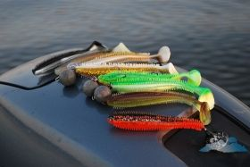 Силикони FOX Rage SPIKEY SHAD - 9см