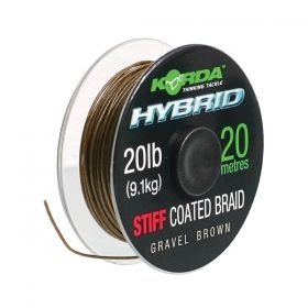 Влакно за поводи Korda Hybrid Stiff Coated Braid 20lb