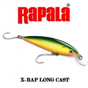 Воблери Rapala X-Rap Long Cast