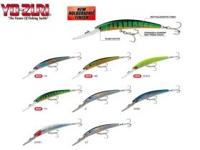 Воблер Yo-Zuri Crystal Minnow Deep Diver New Holographic Finish 90мм