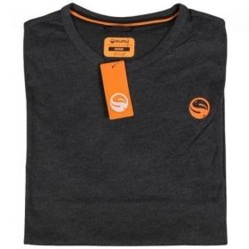 Тениска GURU Brush Logo T-Shirt Charcoal