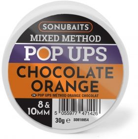 Плуващи топчета Sonu Mixed Method POP UPS - Chocolate and Orange