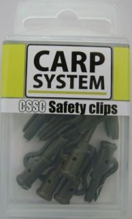 Safety Clips - Carp System