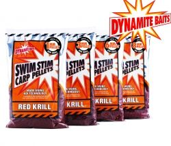 Пелети Swim Stim Carp Pellets Red Krill 6мм