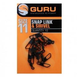 Вирбели GURU Snap Link & Swivel - size 11