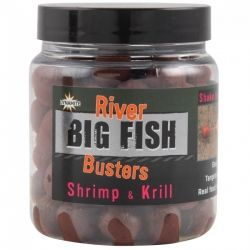 Топчета Dynamite Big Fish River Hookbaits - Shrimp & Krill