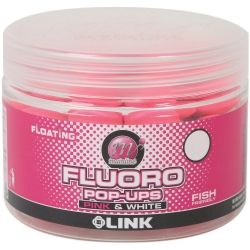 Плуващи топчета Mainline The LINK Fluoro Pop-Ups Pink & White