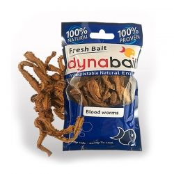 Dynabait Hydrated Blood worms fresh - морски червеи