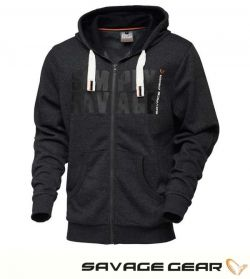 Суичър Savage Gear Simply Savage Raw Zip Hoodie