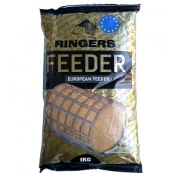 Захранка Ringers European Feeder Groundbait Brown