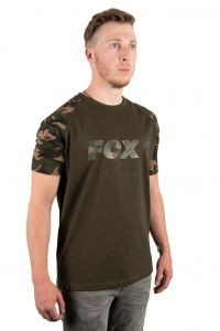 Тениска FOX Camo/Khaki Chest Print T-Shirt