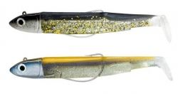 Силикони Fiiish Black Minnow No4 Double Combo - 14см, 40гр