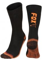 Термо чорапи Fox Thermo Socks - Black Orange
