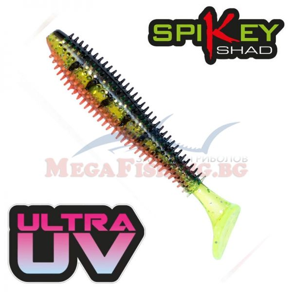 Силикони FOX Rage SPIKEY SHAD UV