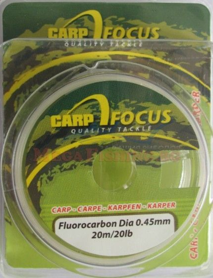 Влакно Focus Carp Flurocarbon 0.45mm
