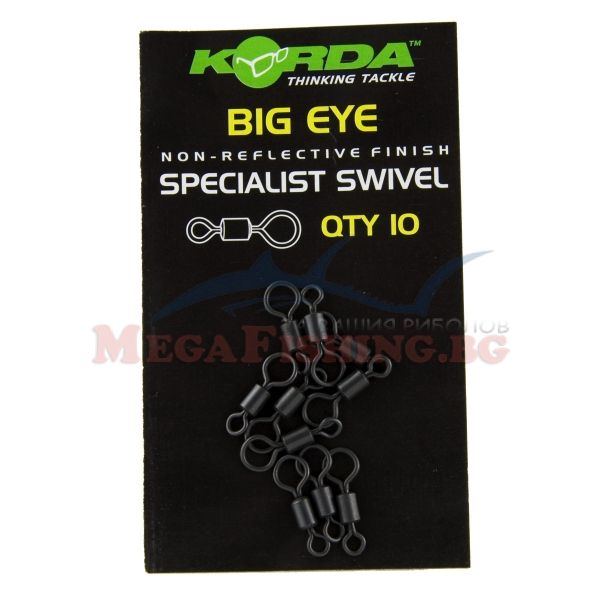 Вирбели Korda Big Eye Swivel
