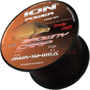 Влакно за риболов ION POWER BROWNY CARP 1200m