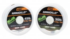 Влакно за поводи FOX Edges Armadillo Shock and Snag Leader
