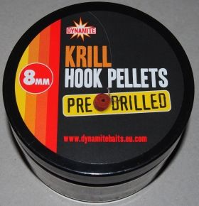 Пелети Dynamite KRILL Pre Drilled Hook Pellets 8мм
