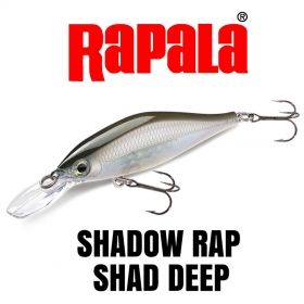 Воблер Rapala Shadow Rap Shad Deep 9см - SDRSD09