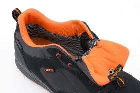 Обувки FOX Black and Orange Trainers