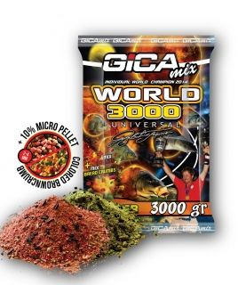 Захранка GICA MIX World 3000 Фидер - 3кг