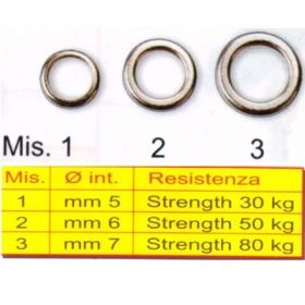 Халки плътни Stonfo Pro Jigginf Solid Ring - art.465