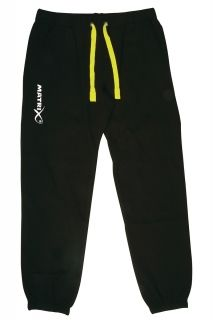 Панталони Matrix Relaxed Fit Black Joggers