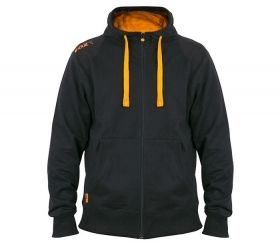Суитчър FOX Black and Orange Lightweight Zipped Hoody