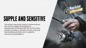 Влакно Sufix ADVANCE Clear - 150м