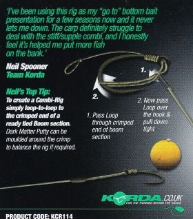 Вързани куки Korda Krank Loop Ready Tied Rigs