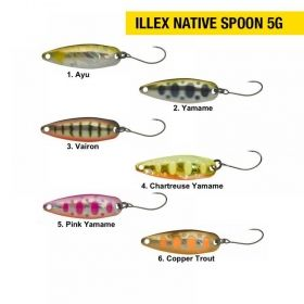 Блеснa Illex Native Spoon 5g