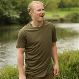 Тениска Korda Quick Dry Short Sleeve T-Shirt