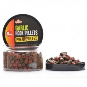 Пелети Dynamite Garlic Pre Drilled Hook Pellets 8мм