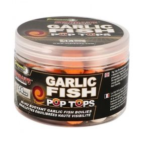 Плуващи топчета Starbaits Garlic Fish Pop Tops 14мм