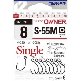 Куки OWNER SINGLE HOOK  S  55M