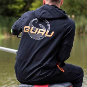 Суитчер GURU Black Lightweight Hoody