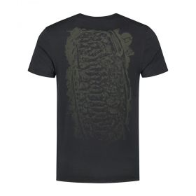 Тениска Korda LE Scaley Tee Black Olive Print