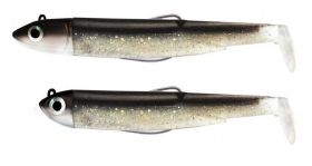Силикони Fiiish Black Minnow No1 Double Combo - 7см, 3гр+6гр