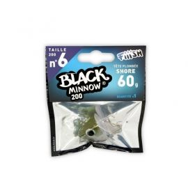 Джиг глава Fiiish Black Minnow No6 Jig Head 60гр Shore