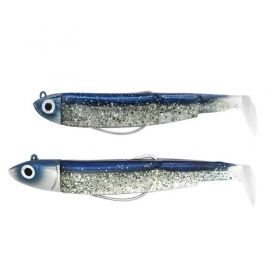 Силикони Fiiish Black Minnow No3 Double Combo 12гр + 25гр - Barracuda Tour