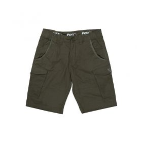 Къси панталони Fox Collection Green & Silver Combat Shorts