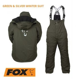 Яке и гащеризон FOX Collection Green & Silver Winter Suit