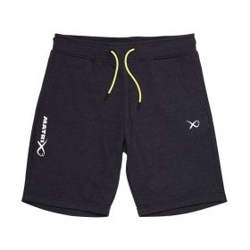 Къси панталони Matrix Minimal Black Jogger Shorts